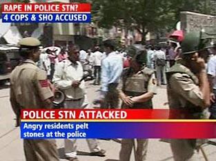 Delhi Police Station Rape