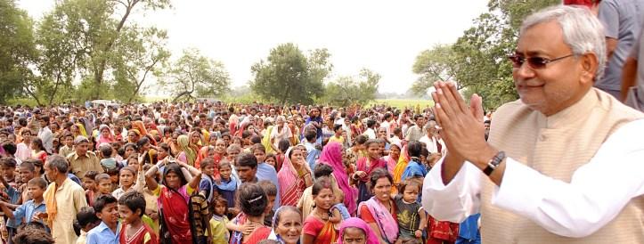 Nitish Kumar. Photo copyright Greater Voice.