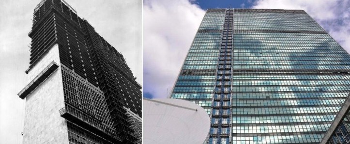 UN Head Quarter - Then and Now