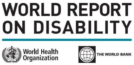 World Report On Disability. Webshot by Neeraj Bhushan.