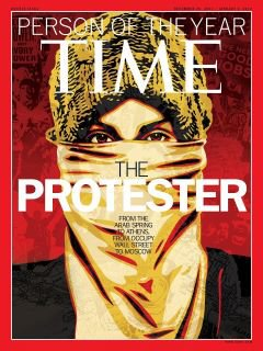The Protester TIME magazine Person of the Year 2011