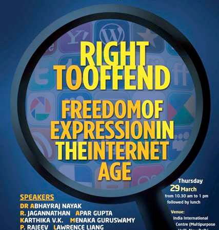 Right To Offend - Freedom Of Expression In The Internet Age