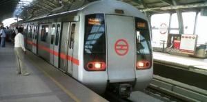 Delhi Metro. Photo By Neeraj Bhushan