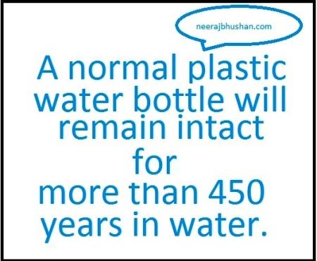 Water Pollution By Plastic. Illustration By Neeraj Bhushan for neerajbhushan.com