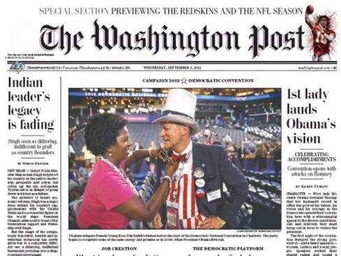 Washington Post on Prime Minister Manmohan Singh