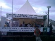 The Warsi Food stall at the Mall Road, near Indira Gandhi's statue.