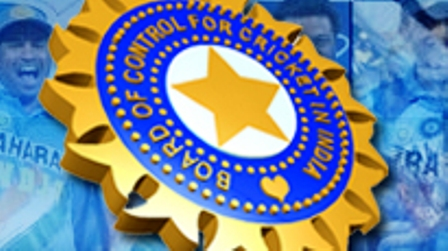BCCI logo Indian Cricket Board