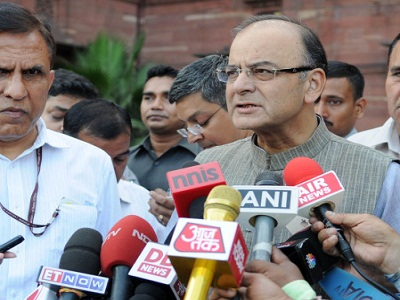 Finance Ministr Arun Jaitley