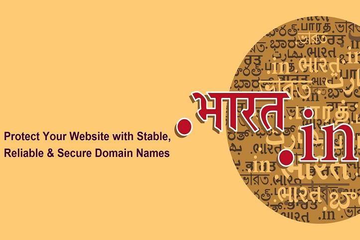India dot in domain registration